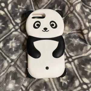 🌼🔥SALE🔥EUC Panda Rubber iPhone 7 Plus case🌼